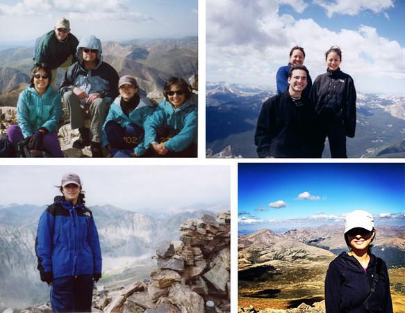 Hiking Colorado Fourteeners (mountains over 14,000')