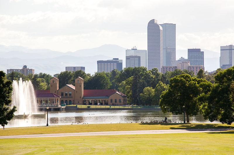 City Park with views of Denver, Colorado and the mountains. (Photo: Kim Olson)