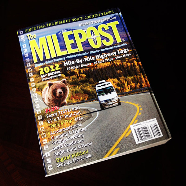 Milepost - an essential tool for making the drive to/from Alaska