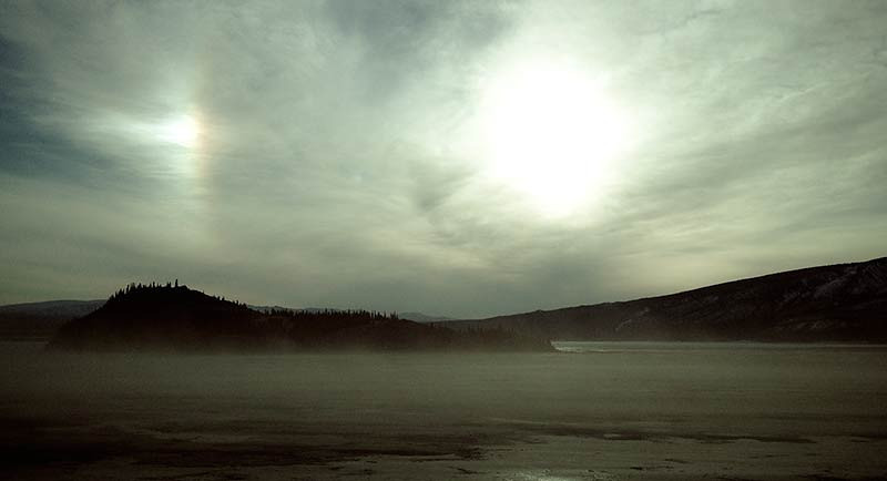 Kluane Lake in the Yukon Territory, Canada. (Photo: Kim Olson)