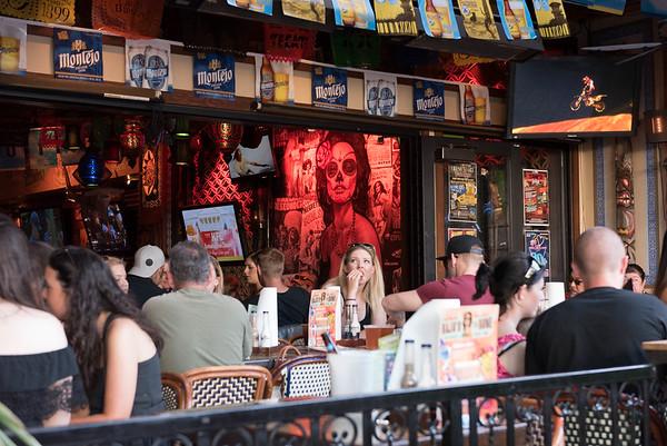 Bar in down town Santa Barabara, CA