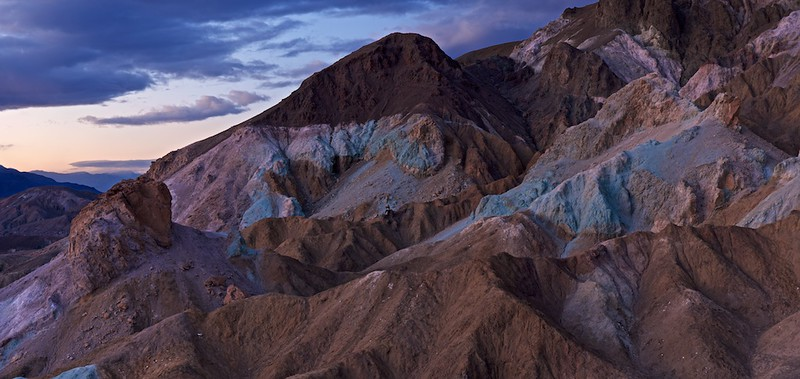 """HAPPY NEW YEAR - 1 January 2015<br /> <br /> Artist Palette at Sunset - Death Valley National Park, California<br /> __________<br /> <br /> Just wanted to express a """"Happy New Year"""" to everyone out there for 2015.  May your whole year be awesome and wonderful.<br /> <br /> Cheers<br /> <br /> Tom"""