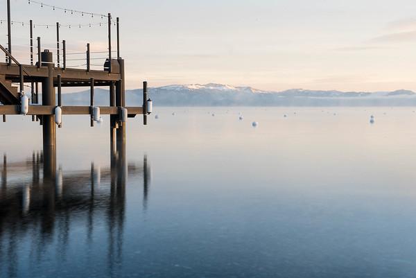 Lake Tahoe in the morning