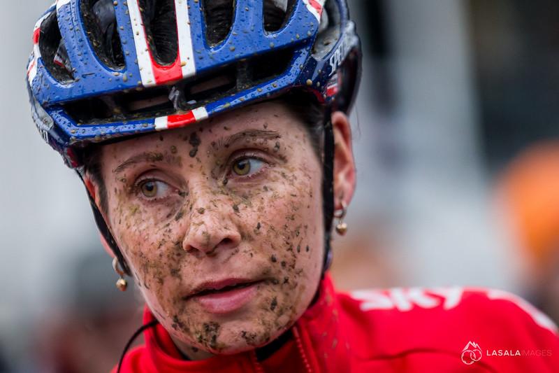 Nikki Harris GBR after the elite women's race at the 2016 Cyclo-cross World Championships on January 30, in Zolder, Belgium. Photo: Matthew Lasala/Lasala Images