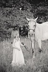 2017 July Unicorn Photos Madeline with Friends-2750 BW