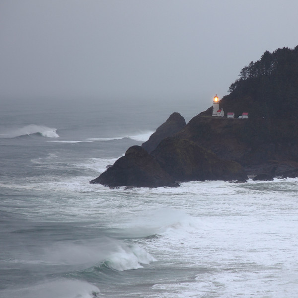 January 2017, Heceta Head Light House
