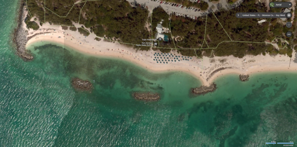 Beach View at Fort Zachary Taylor State Park