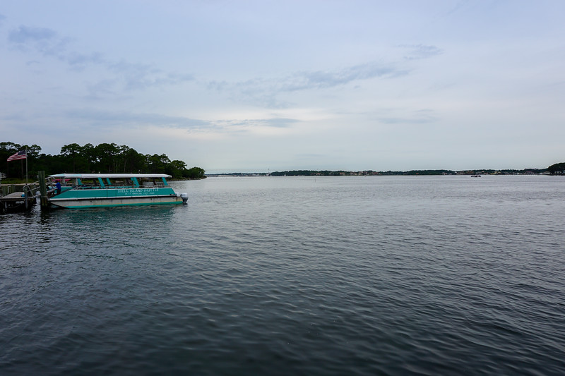 Shuttle Service to Shell Island