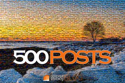 2019 500th Post Photo Mosaic 001A - Deremer Studios LLC