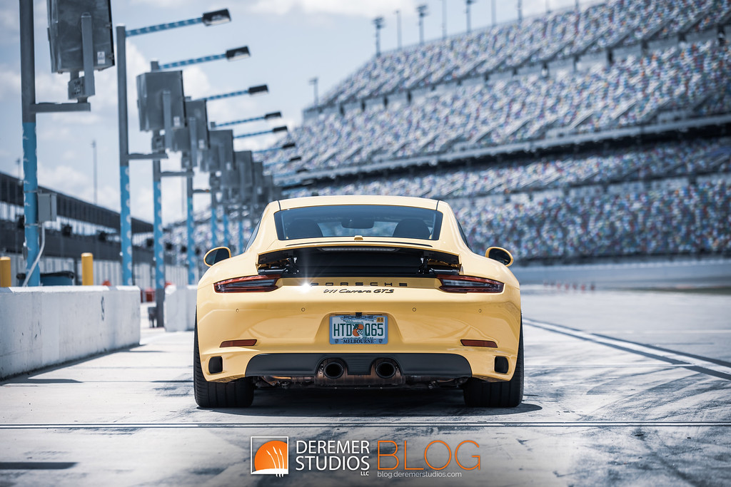 BGB Motorsports 'Big Bird' 911 GTS Track-ready sleeper - Daytona Pit Lane