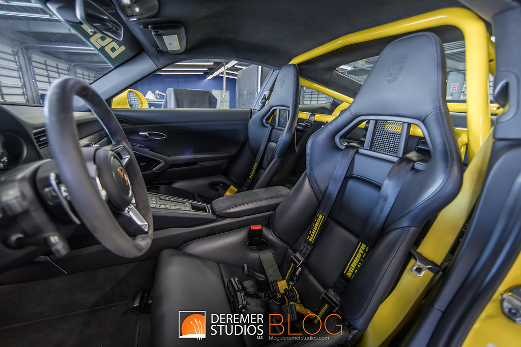 BGB Motorsports 'Big Bird' 911 GTS Track-ready sleeper - interior