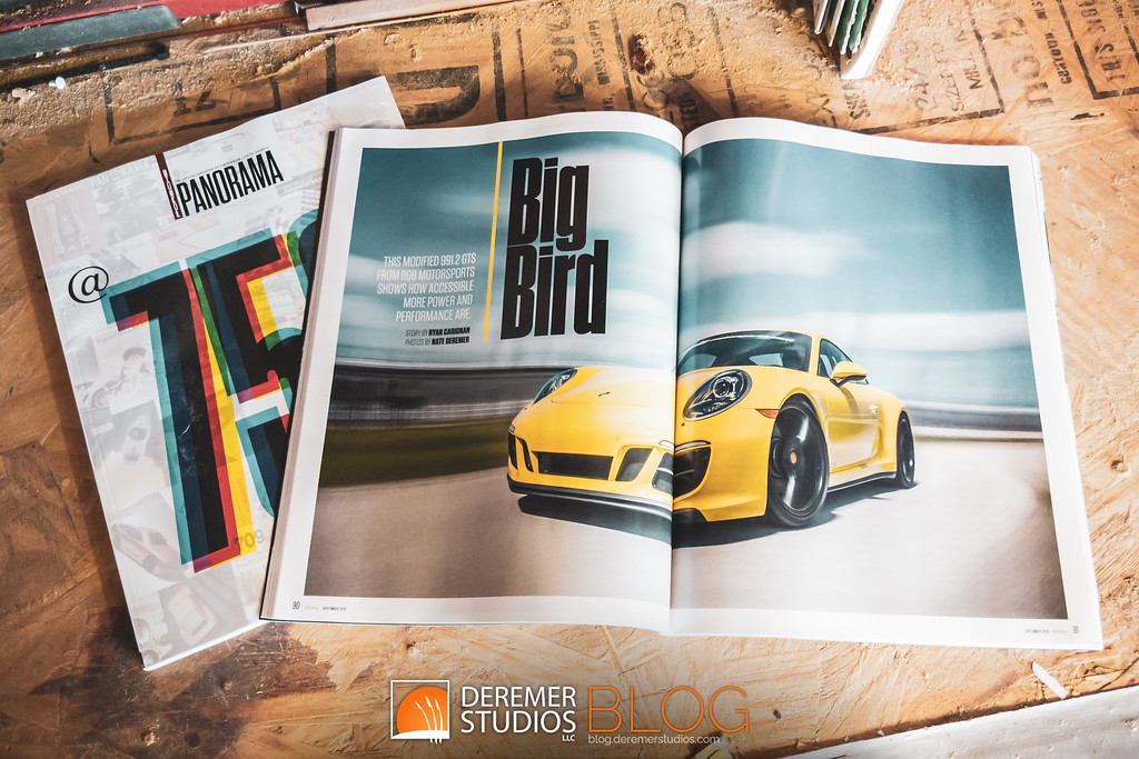 BGB Motorsports 'Big Bird' 911 GTS Track-ready sleeper - magazine