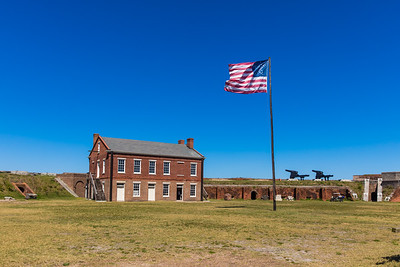 2019 Fort Clinch Flag 029A - Deremer Studios LLC