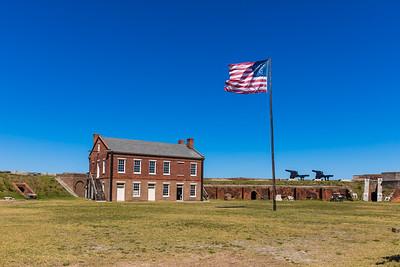 2019 Fort Clinch Flag 029A - Deremer Studios LLC