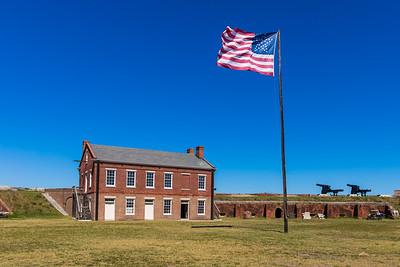2019 Fort Clinch Flag 015A - Deremer Studios LLC
