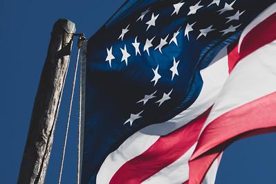 2019 Fort Clinch Flag 021A - Deremer Studios LLC