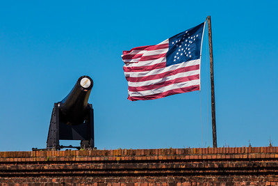 2019 Fort Clinch Flag 003A - Deremer Studios LLC