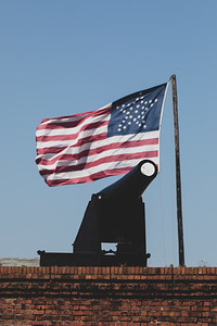 2019 Fort Clinch Flag 005A - Deremer Studios LLC