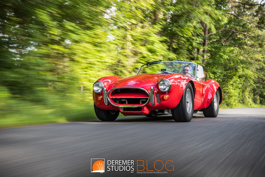 1966 Shelby Cobra 427 in Motion