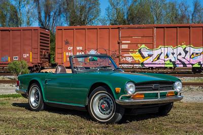 2014 - Deremer 1970 Triumph TR6 055A - Deremer Studios LLC