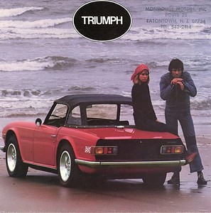 1970 - Deremer 1970 Triumph TR6 002A - Deremer Studios LLC