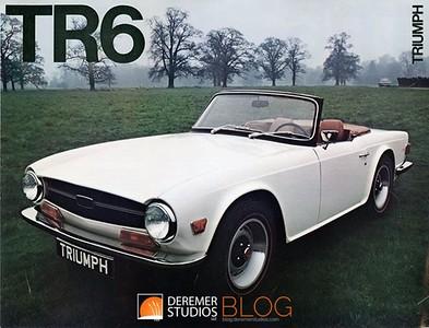 1970 - Deremer 1970 Triumph TR6 008A - Deremer Studios LLC