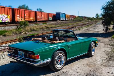 2014 - Deremer 1970 Triumph TR6 053A - Deremer Studios LLC