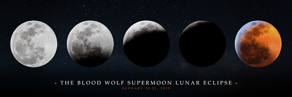 2019 Blood Wolf Moon Lunar Eclipse 018A PANO 36 - Deremer Studios LLC