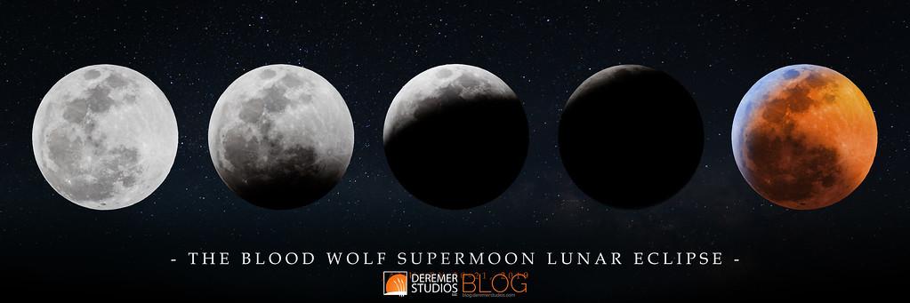 Blood Wolf Supermoon Lunar Eclipse 2018