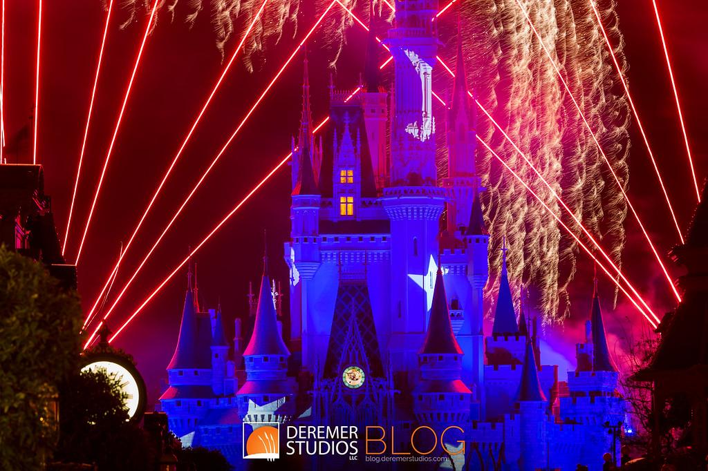 A Bit of Disney Magic - Fireworks at Disney's Magic Kingdom - Orlando, FL