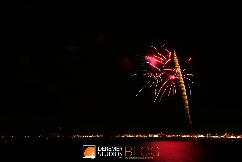 Fireworks along the New England Coast - Hampton Beach, NH
