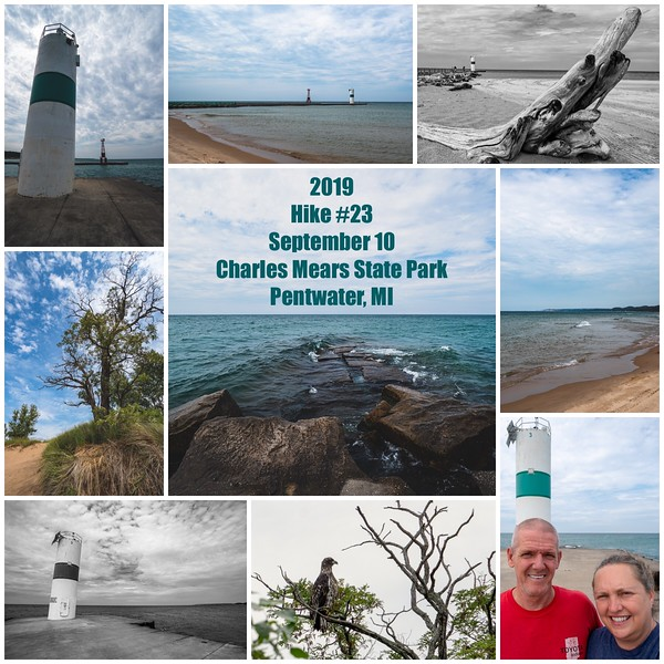 2019 Hike #23 on September 10 at Charles Mears State Park in Michigan