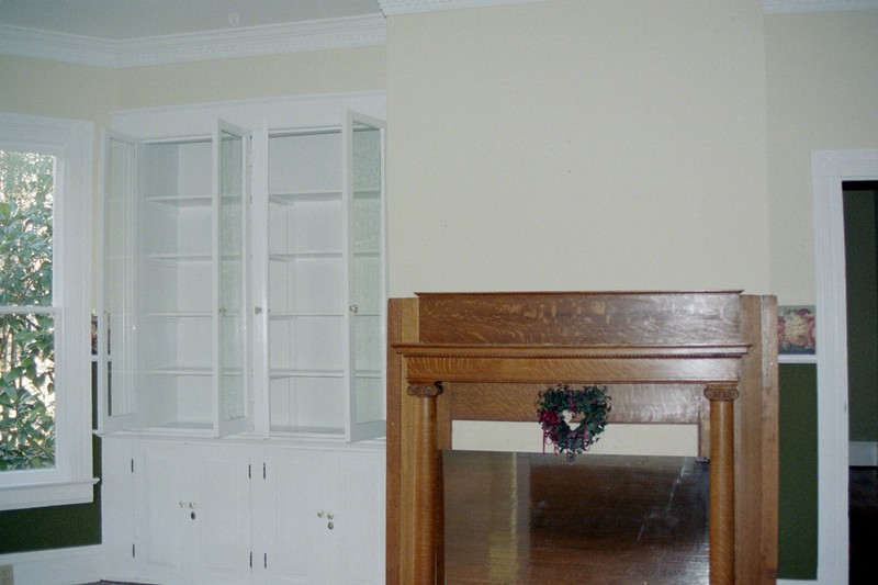 dining room hutch and fireplace.JPG