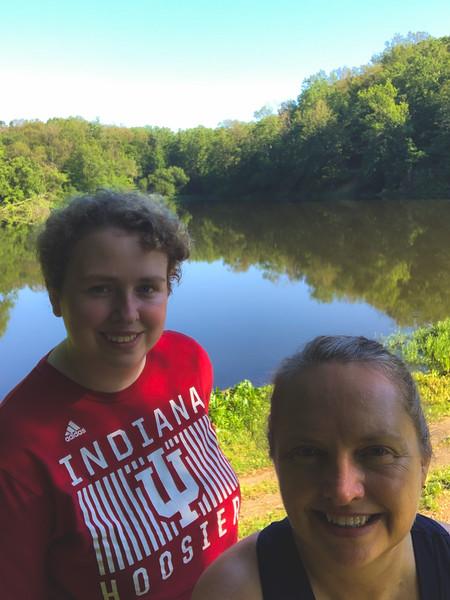 Selfie on the Dam