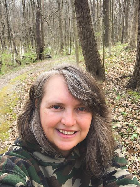 Selfie along the trail!