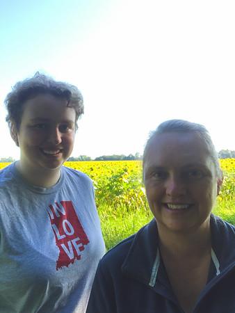 Selfie at the Sunflower Field!