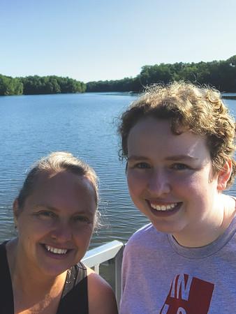 Selfie at the Lake!