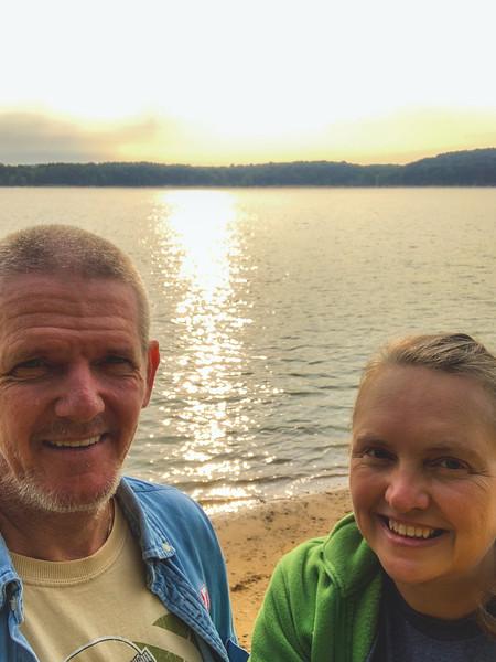 Selfie at Lake Monroe