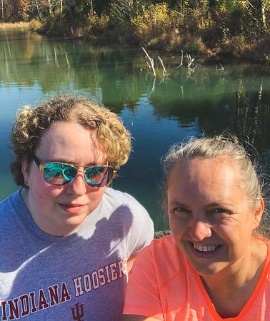 Selfie at Weber Lake