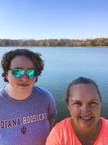 Selfie at Lake Lincoln