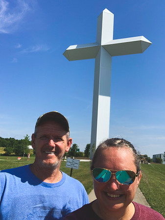 Selfie at The Cross