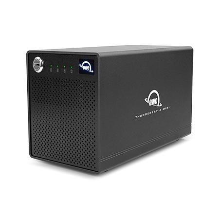 OWC ThunderBay 4 mini SSD (Image: OWC)