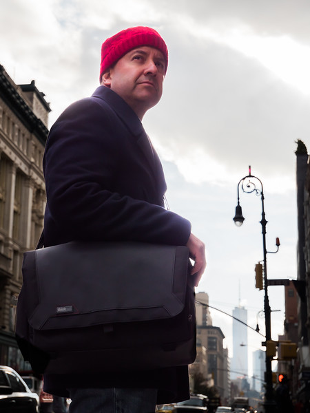 A fun photo of me with the Think Tank Spectral 15 Camera Bag