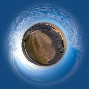 2018 National Parks Globe Project - Badlands 2A