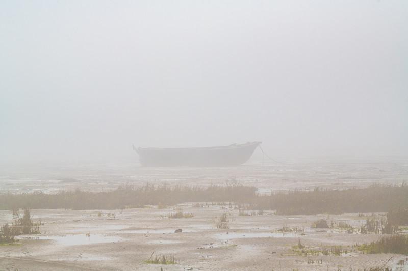 Misty boats makes for some nice landscapes.