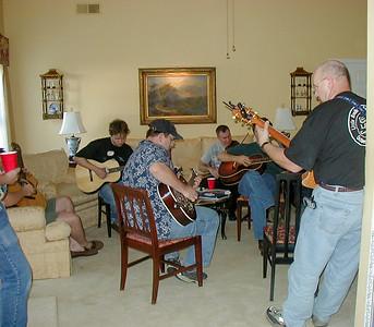 Living room jam