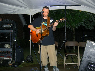 Me at Open Mic om 2005