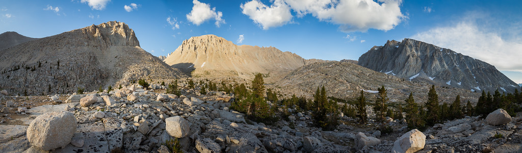 Sunset on Mount Whitney