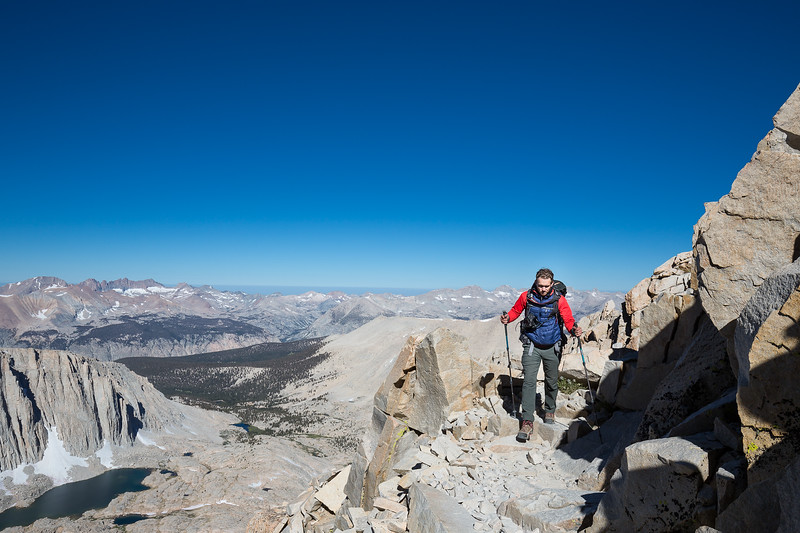 Descending after a nightly climb of Mt. Whitney. Photo credit: Marcel Daniëls