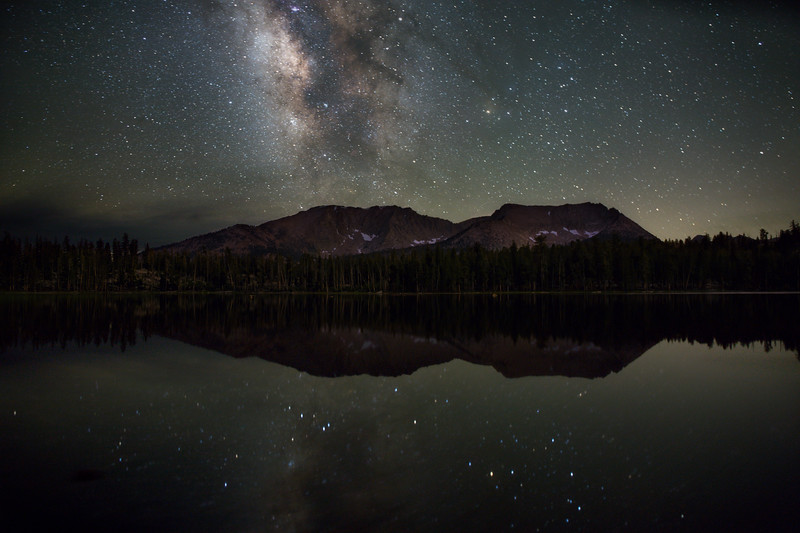 Starry reflections at Moraine Lake